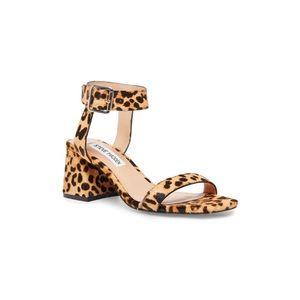 Steve Madden Nolita-L Leopard Heeled Sandal